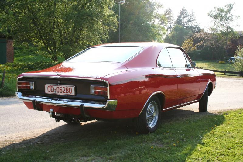 Opel Rekord C Coupé Sprint 1968 | Automobile Zeitreise